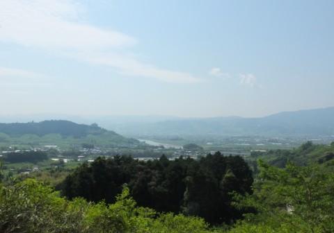 筑後川 遠望